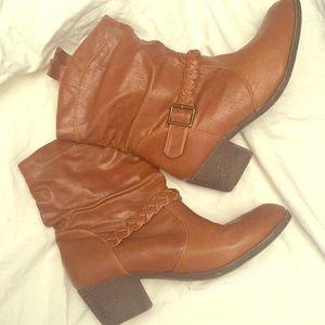 Lane Bryant Booties size 11w